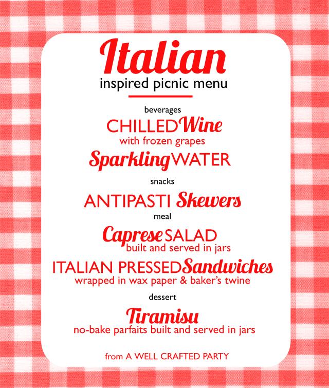 9 Images of Free Printable Italian Menus
