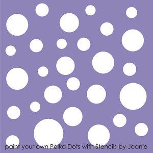 6 Images of Polka Dot Template Printable