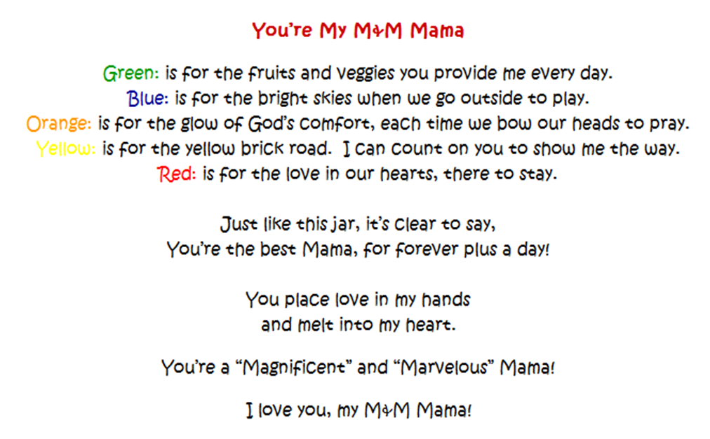 8 Images of Printable Mother's Day Christian Poems