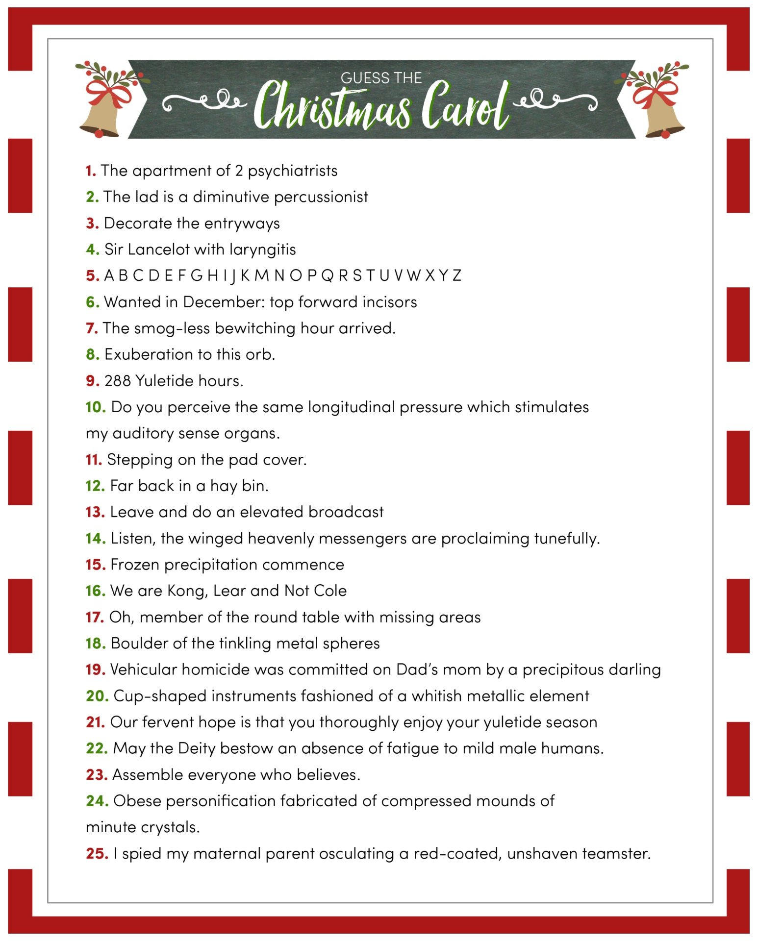 christmas music quiz questions and answers uk