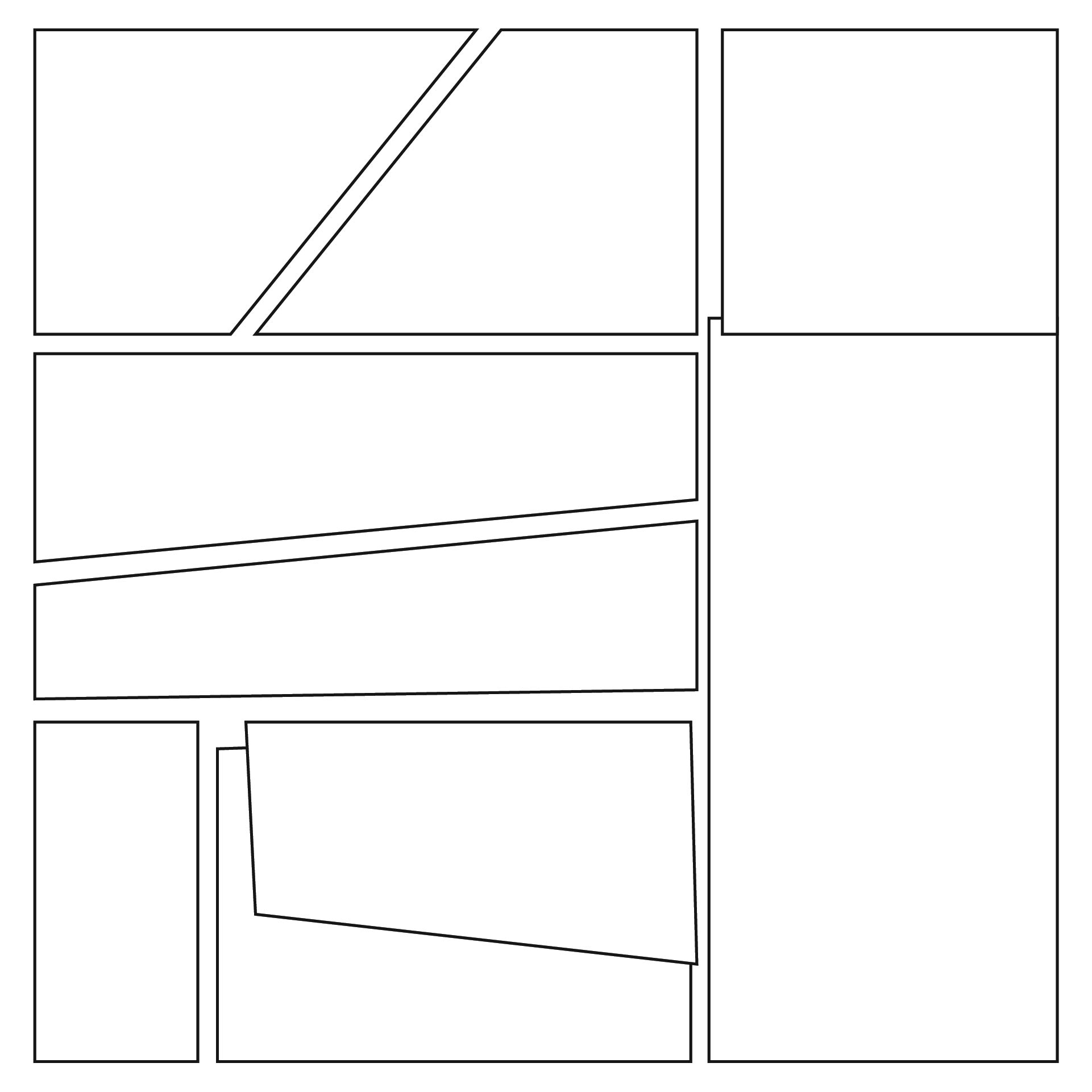 7 Images of Comic Book Templates Printable Free