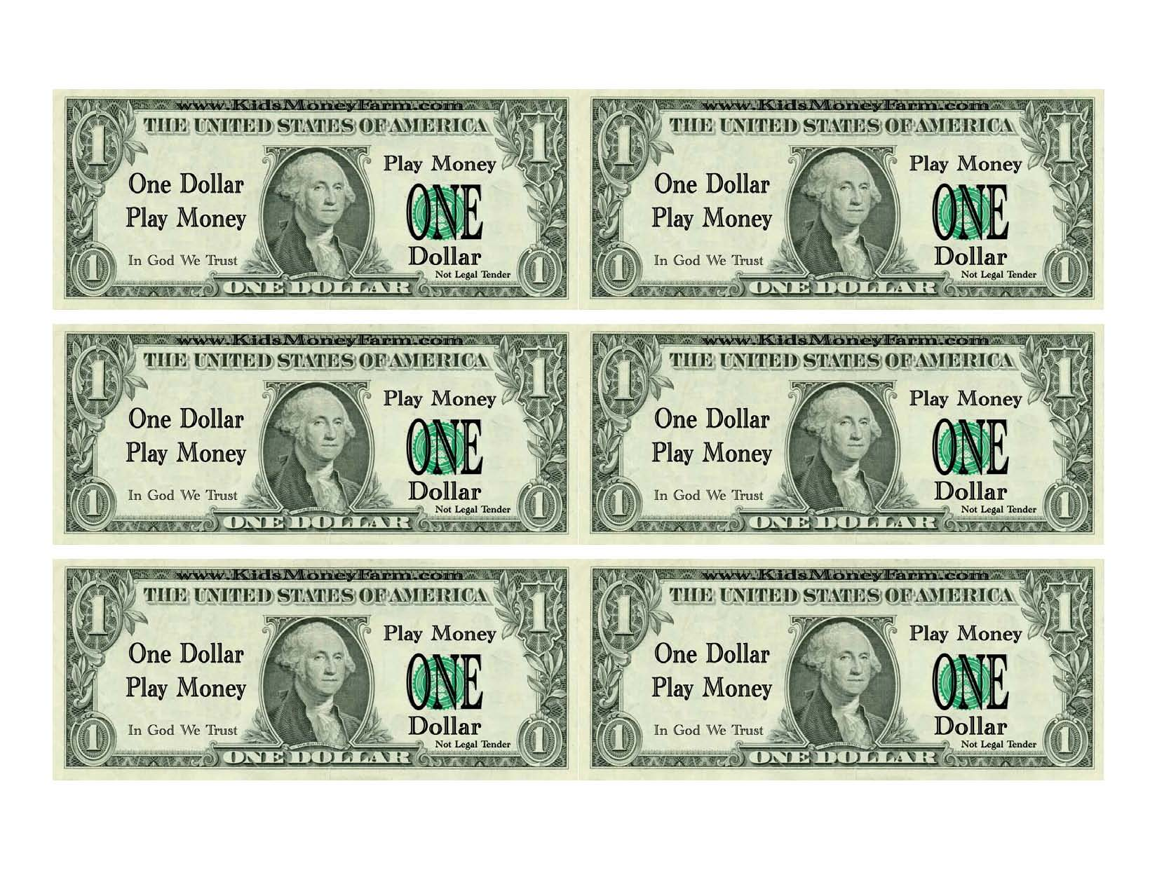 8 best images of free printable money templates for Custom fake money template