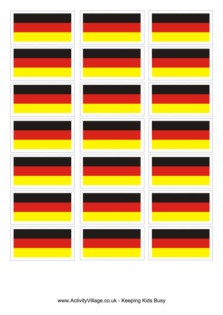 5 Images of Printable Germany Flag