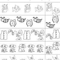 math worksheet : 9 best images of printable pattern worksheets for preschool  free  : Pattern Worksheets For Kindergarten Printable
