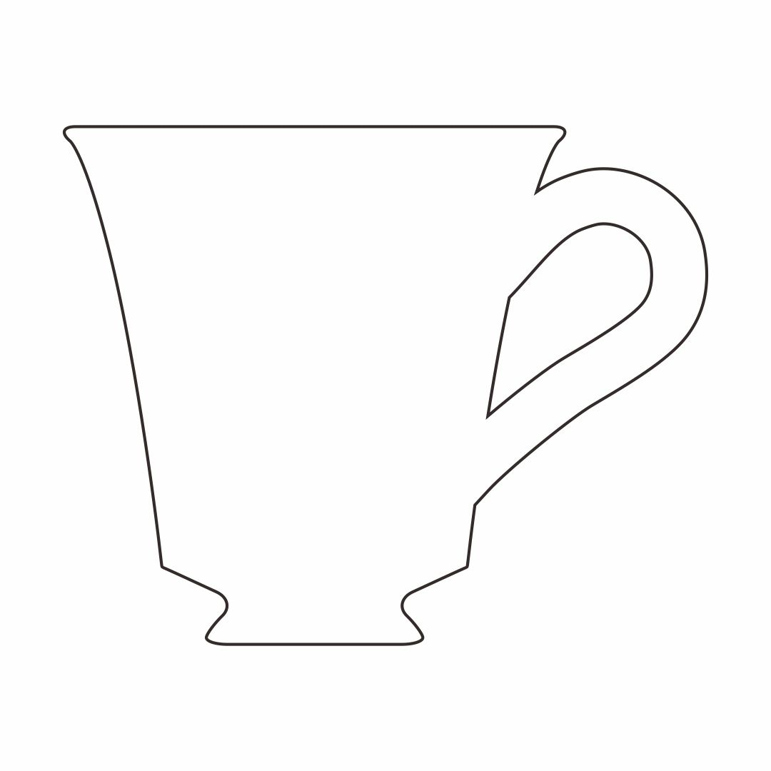 Tea Cup Template Printable