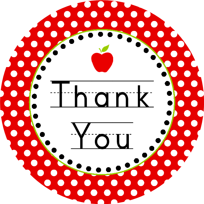 6 Images of Free Printable Teacher Thank You