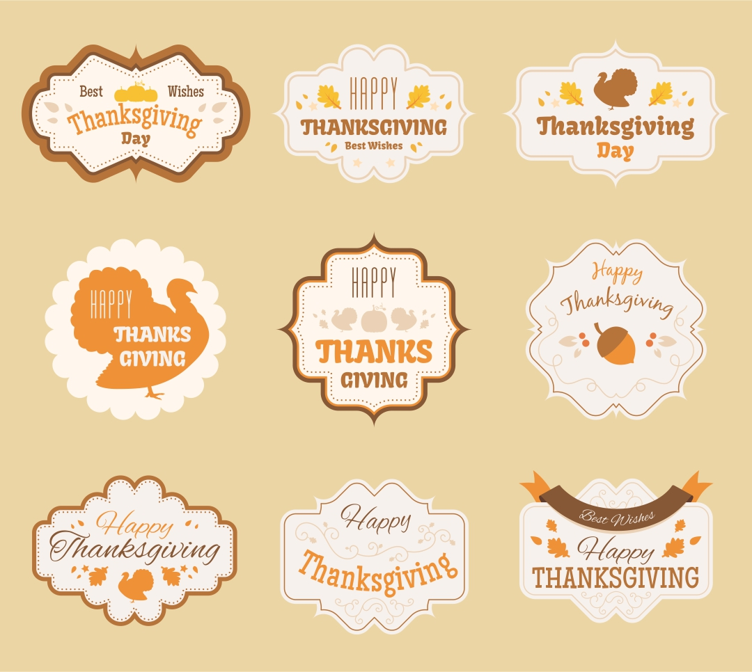 6 Images of Thanksgiving Party Printables