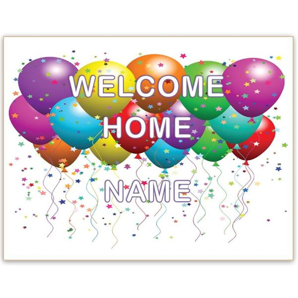 7 Images of Welcome Home Printable
