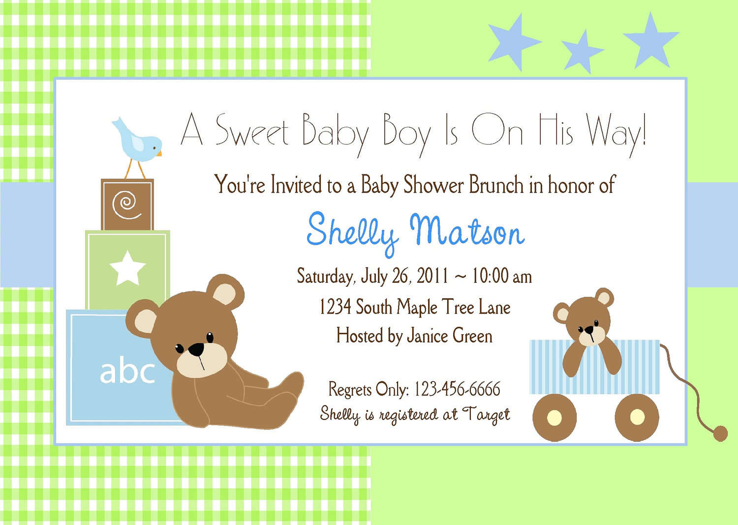 7 Images of Free Printable Baby Shower Invitations Templates