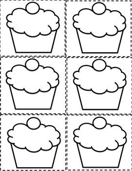birthday bulletin board templates 7 best images of cupcake birthday printables for classroom