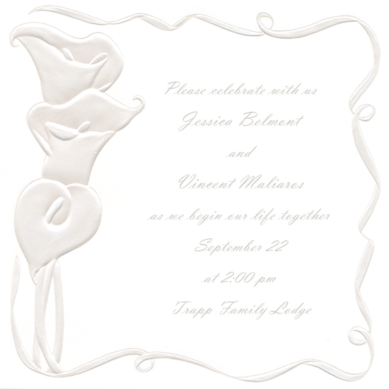 4 Images of Printable Blank Invitation Paper