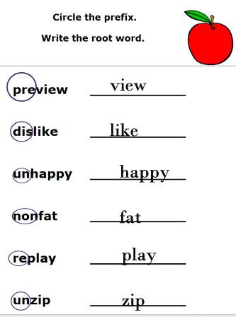 Number Names Worksheets » Worksheets For English Grammar - Free ...