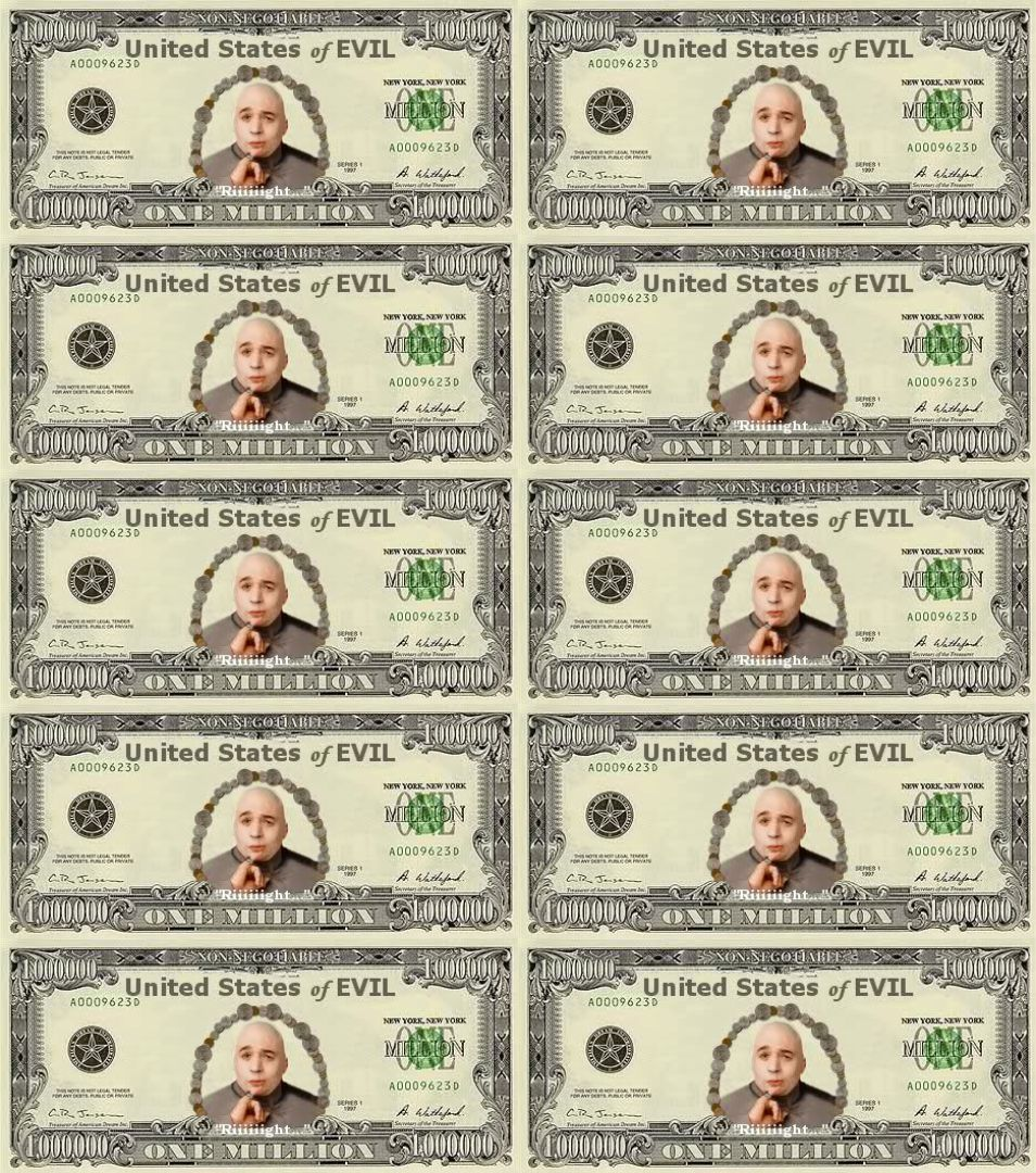 Fake Money Print Outs
