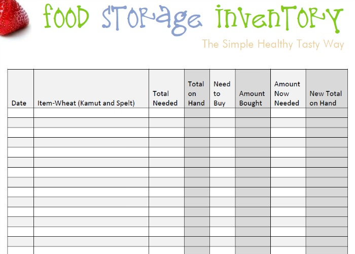 8 best images of free inventory tracking sheets printable