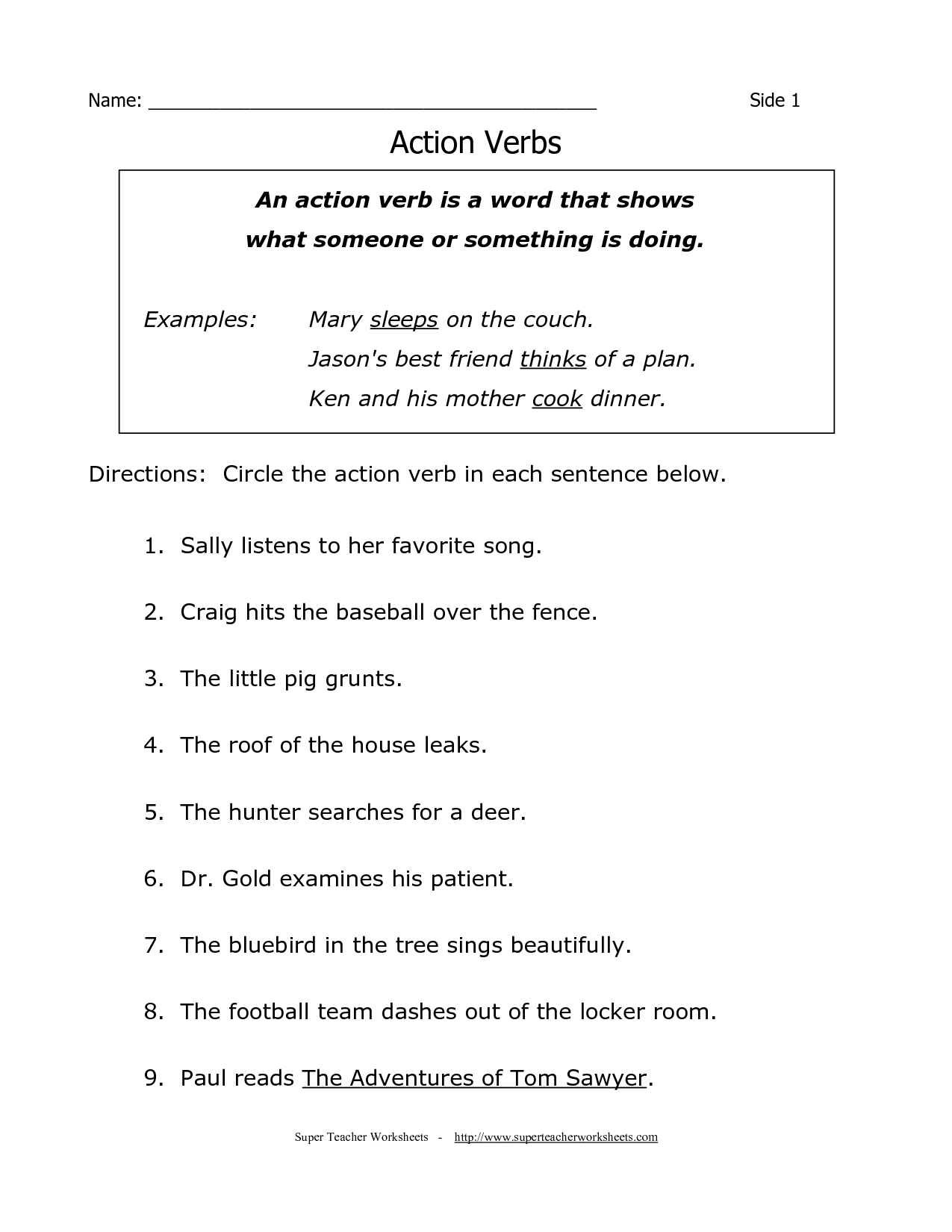 fourth grade grade 4 grammar worksheets - Worksheets for Kids ...