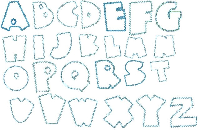 5 Images of Free Printable Letter Patterns