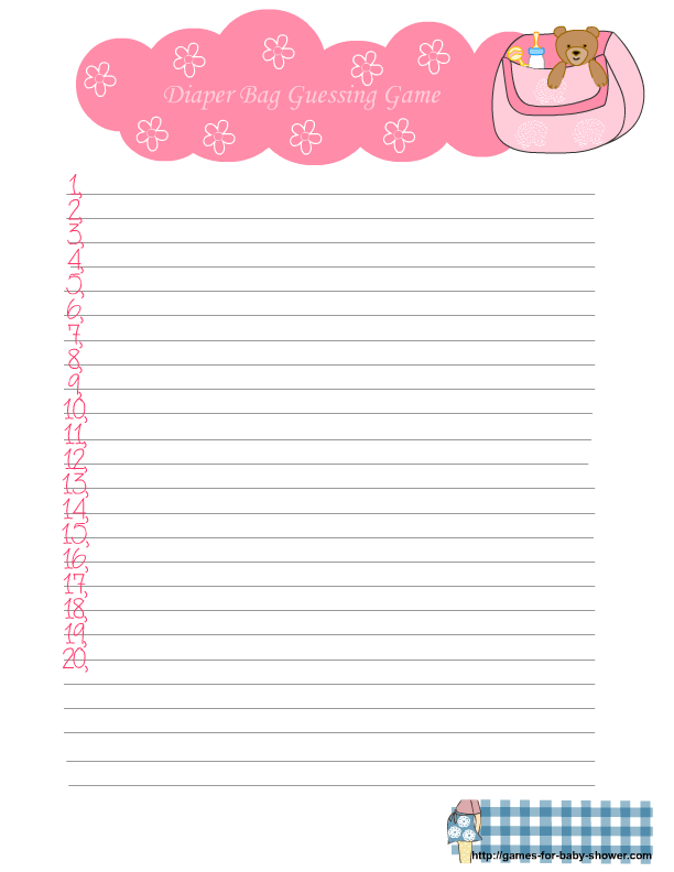 baby shower memory game free printable baby shower games baby