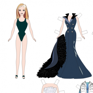 7 Images of Barbie Paper Dolls Printable