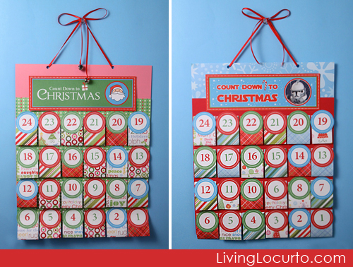 7 Images of Free Printable Advent Calendar 2010