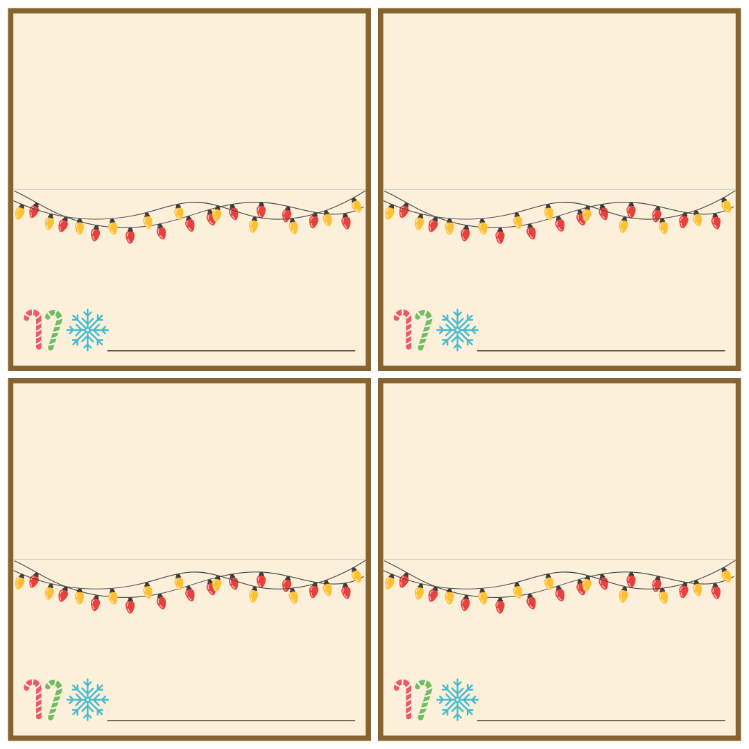 9 best images of printable christmas place cards free printable christmas place cards free