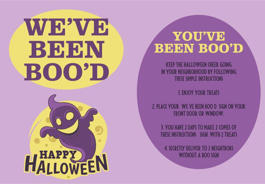 Printable Halloween Boo Sign