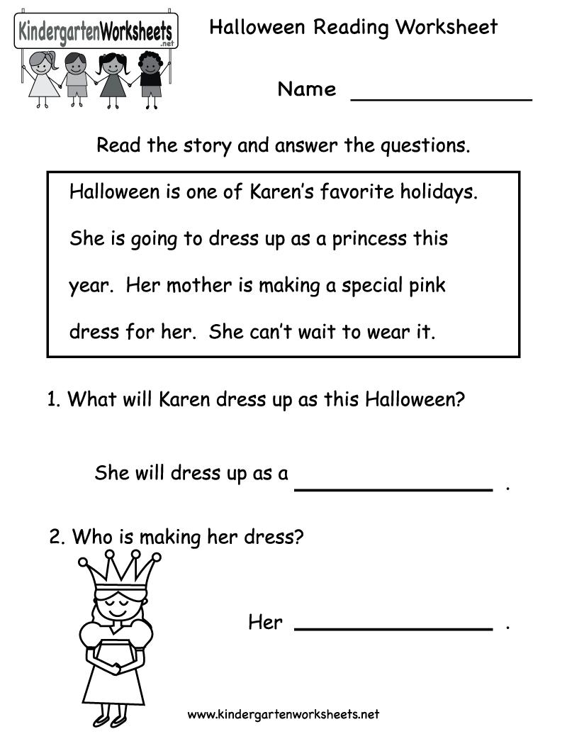 Kindergarten Reading Activities Scalien – Kindergarten Literacy Activities Worksheets