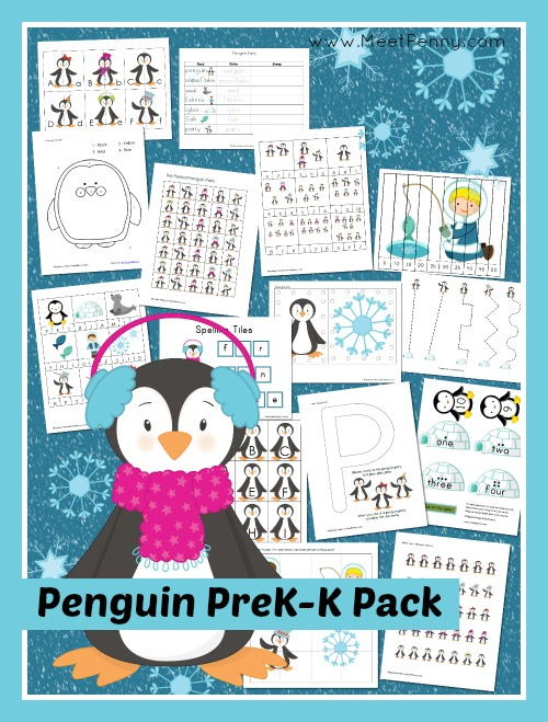 6 Images of Free Printable Winter Packs