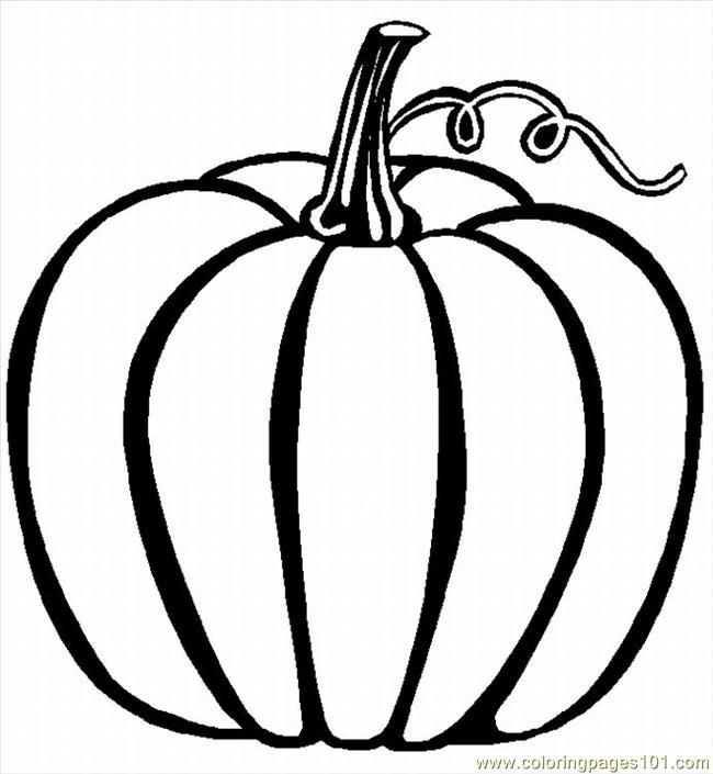 8 Images of Printable Pumpkin Coloring