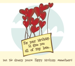 Bewitching image regarding free printable birthday cards for husband romantic