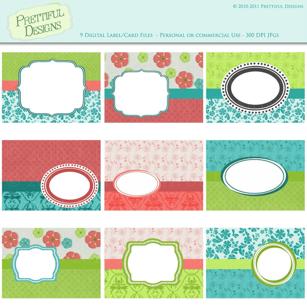Free Printable Scrapbook Labels