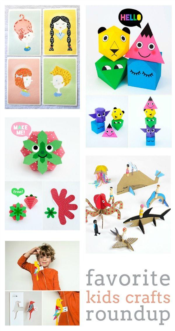 Free Printable Summer Crafts for Kids