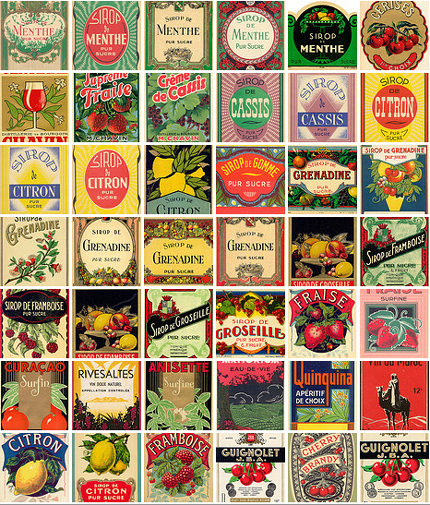 5 Images of Free Printable Old Labels