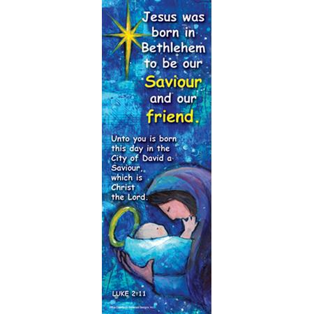 6 Images of Printable Jesus Bookmarks Christmas