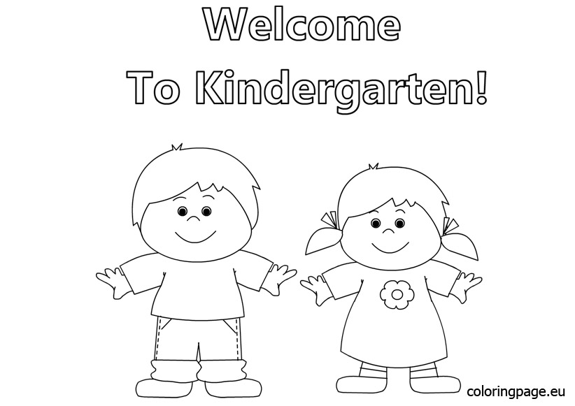 Free welcome back to school coloring pages gallery for for Welcome back coloring pages