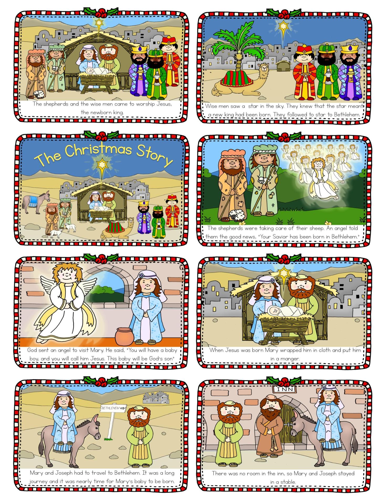 Nativity Printable Mini Book