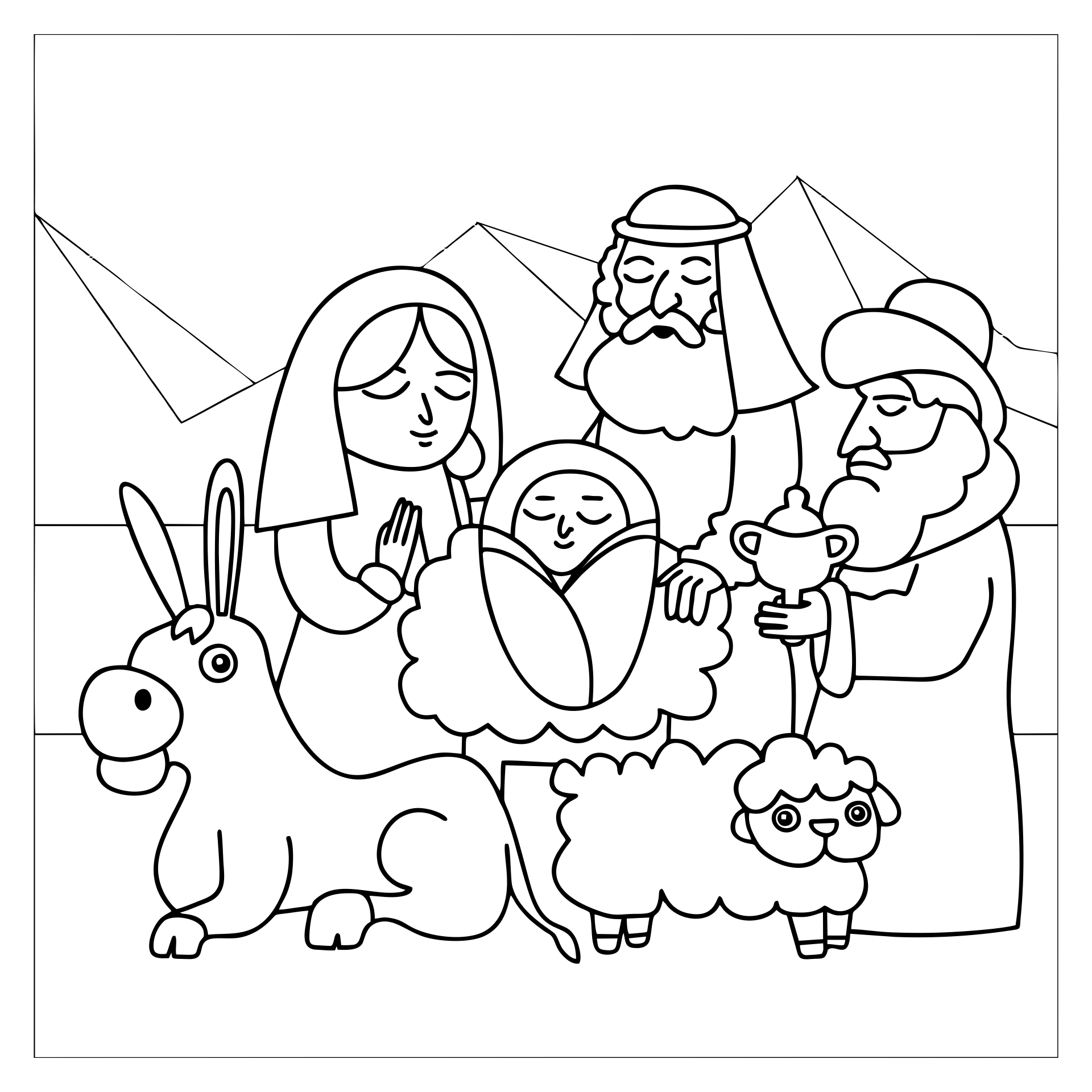 7 Best Images of Nativity Story Printable Book Printable ...