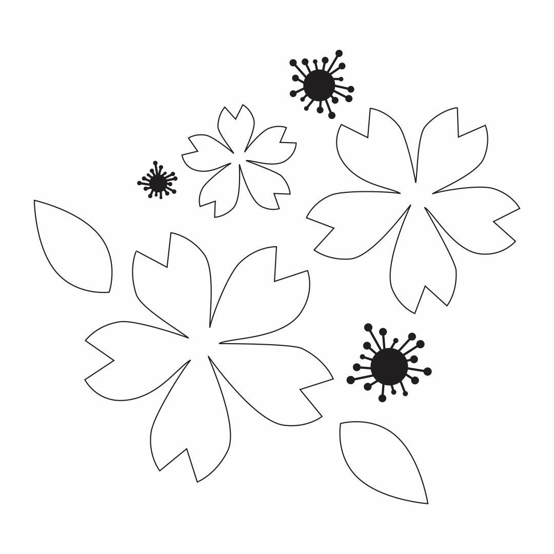 Paper Printable Poppy Flower Pattern