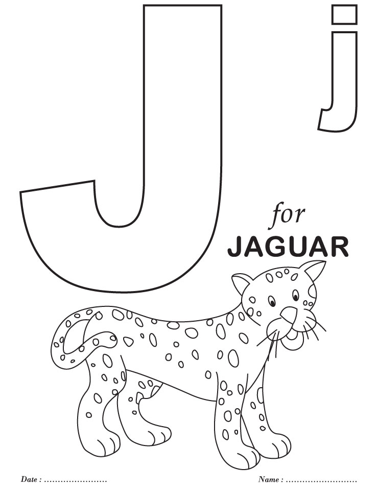 6 Best Images Of Printables For Preschool Letter J