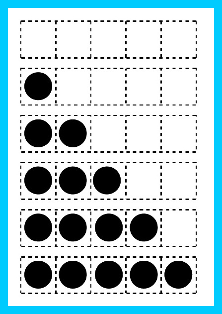 Printable Five Frame Math