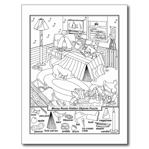 of Find Hidden Objects Puzzles Printable - Free Printable Find Hidden ...