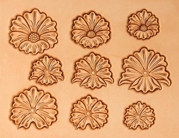 Best images of leather flower patterns printable free