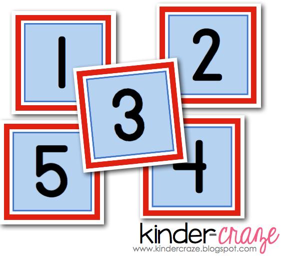 Printable Teacher Calendar Numbers
