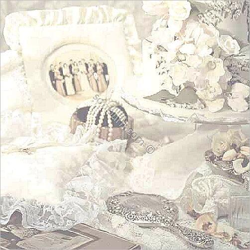 8 Images of Wedding Scrapbook Paper Free Printable