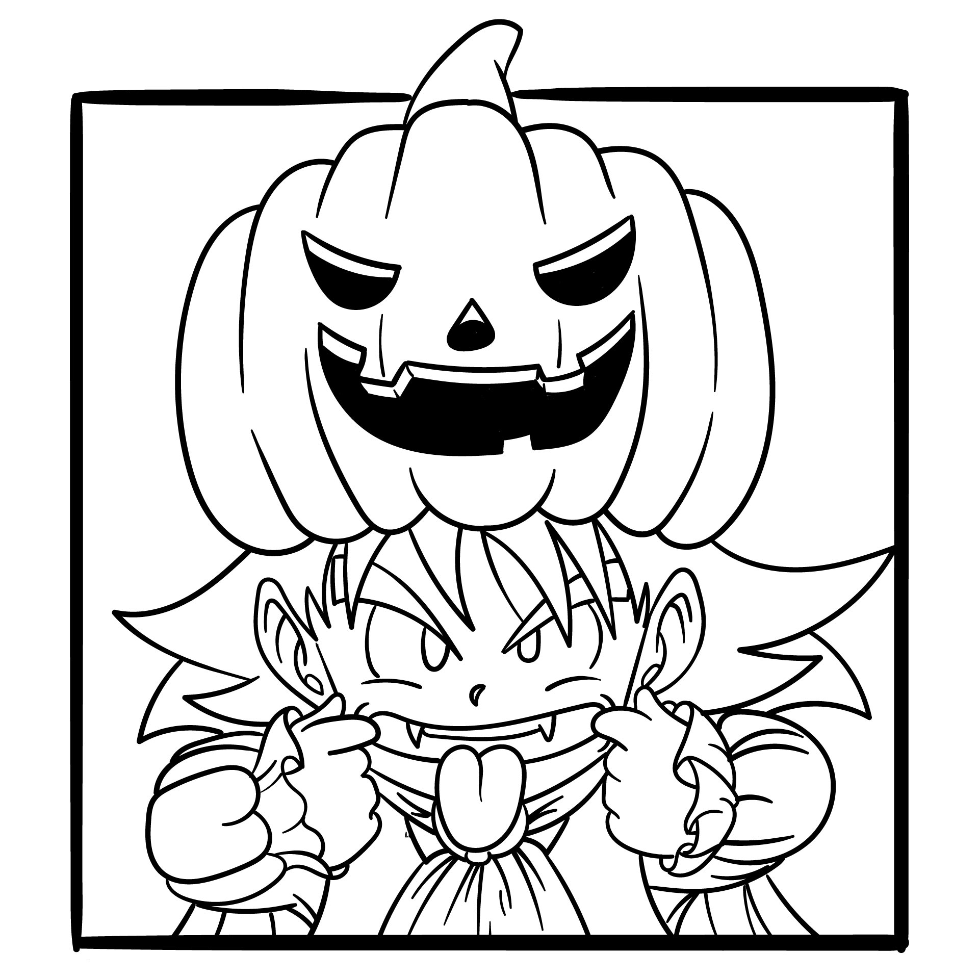 5 Images of Fun Halloween Printable Coloring Pages