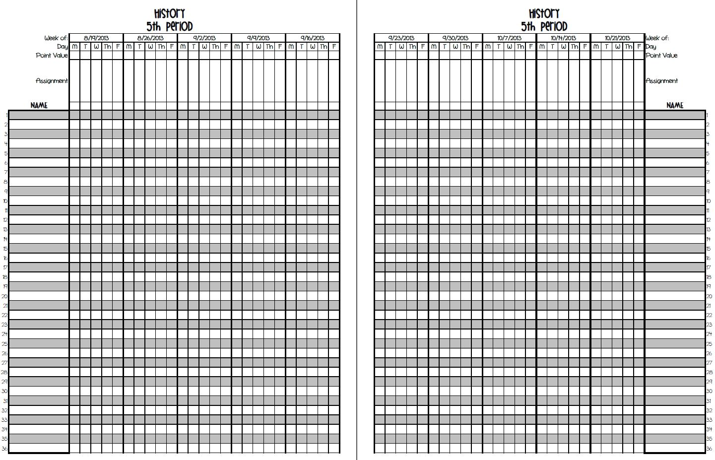 9 best images of printable gradebook template word printable teacher grade book sheets. Black Bedroom Furniture Sets. Home Design Ideas
