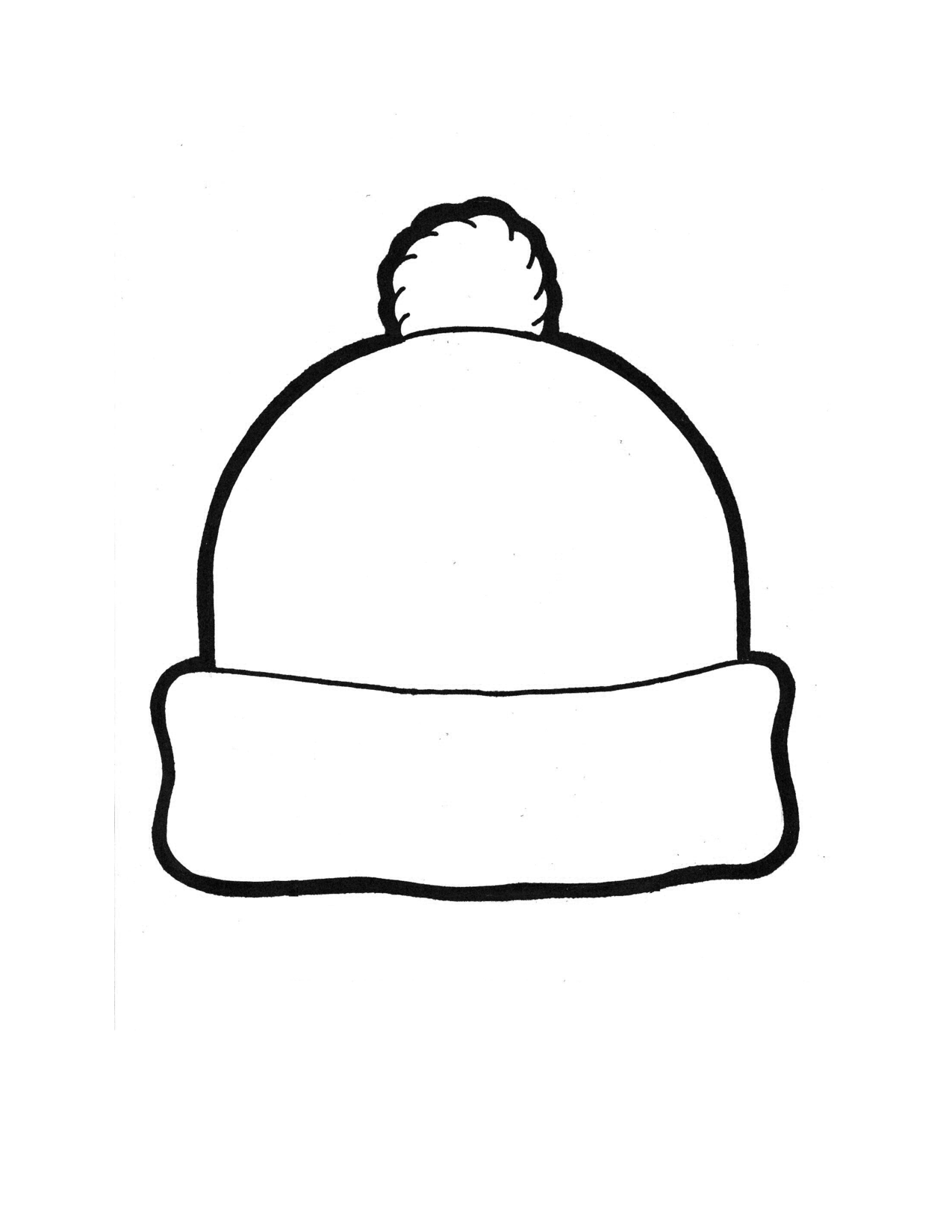 7 Images of Hat Template Printable
