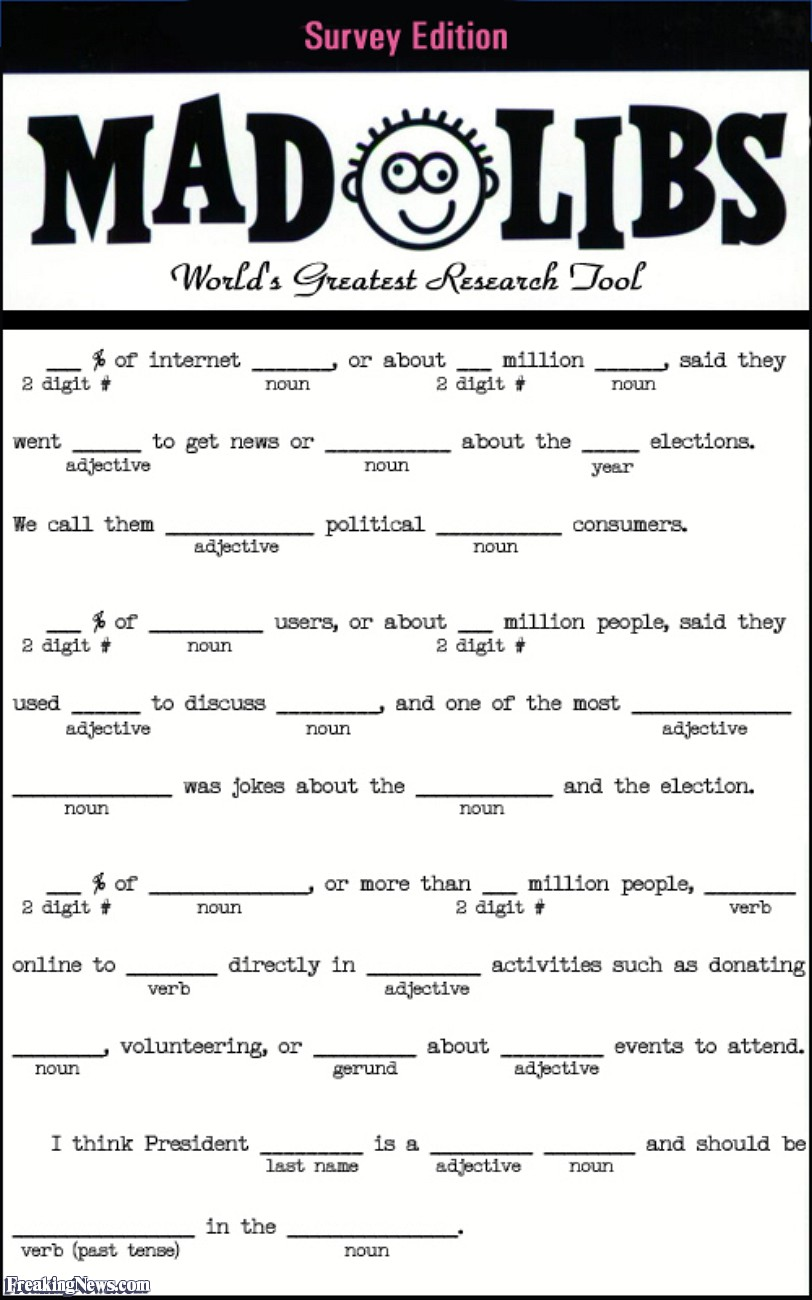 7 Images of Printable Mad Libs For Adults