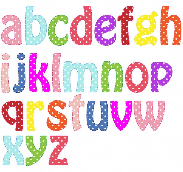 Colorful Alphabet Letters Printable 5 best images of colorful ...