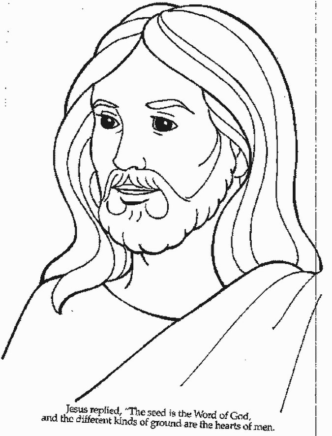 6 Images of Printable Coloring Pages Of Jesus