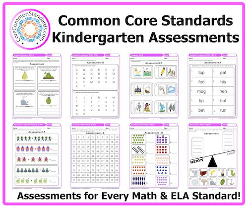 6 Images of Printable Kindergarten Assessments